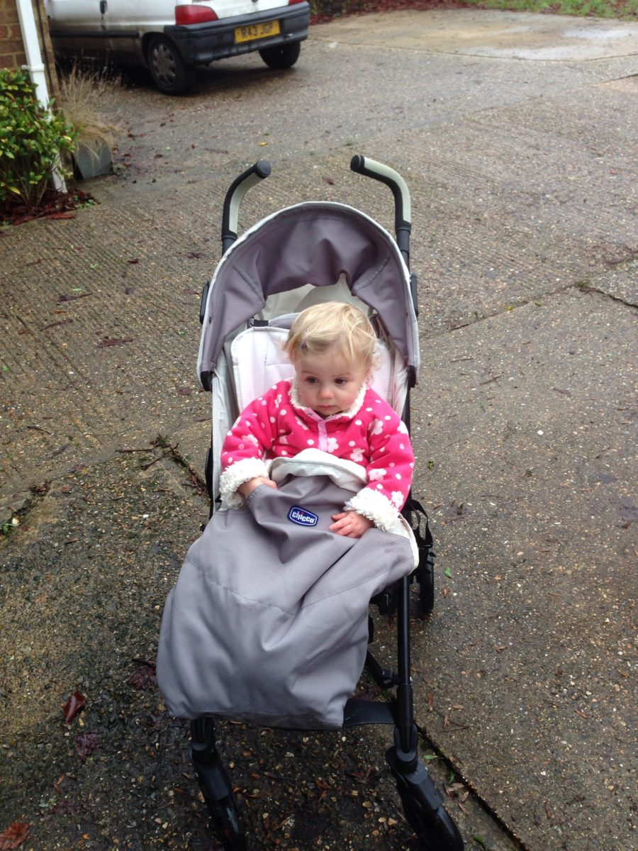 Chicco LiteWay Stroller Grey - What Mummy Thinks
